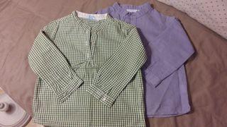 Lote dos camisas niño 36 meses