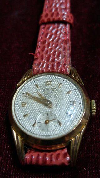 Reloj suizo vintaje mujer