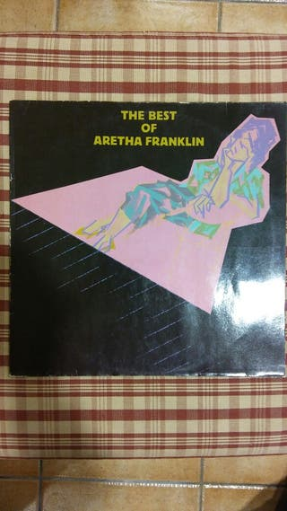 """Aretha Franklin """" The Best of..."""" Vinilo Lp"""