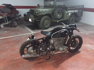 Bmw r60 cafe racer con sidecar