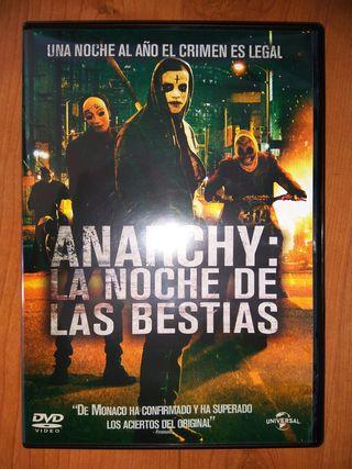 Anarchy: La noche de las bestias (LA PURGA) (dvd)