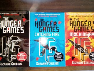 Libros Los juegos del hambre en inglés