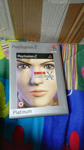 Resident evil codeo Verónica X ps2