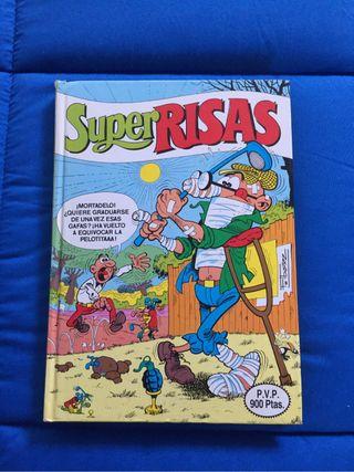 Tebeo de Super risas (1987)