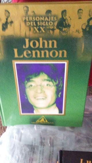 Libro Jon Lenon, ilustres siglo xx