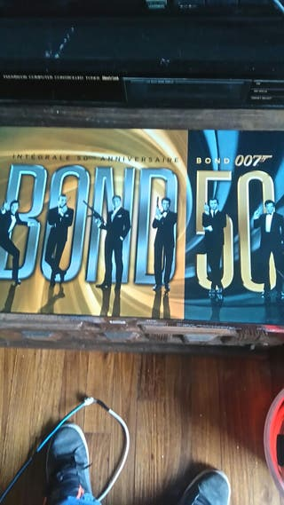 Bond 007 colección.dvd