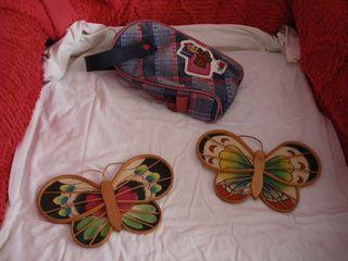 Bolsa aseo niño, mariposas deco