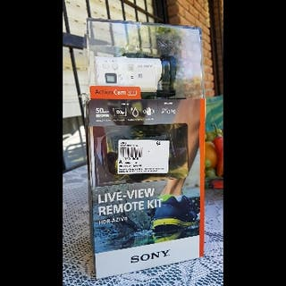 Cámara Sony action cam mini HDR-AZ1VR