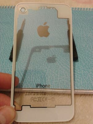 9a3c3f7cece Tapa trasera Transparente Para Iphone 4 de segunda mano por 2,99 ...