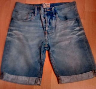 Pantalon vaquero corto