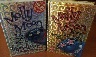 """LIBROS Juveniles """"MOLLY MOON"""""""