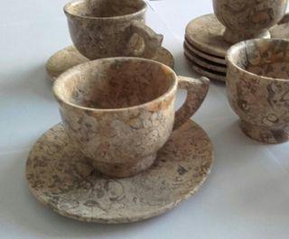 Tazas café marmol