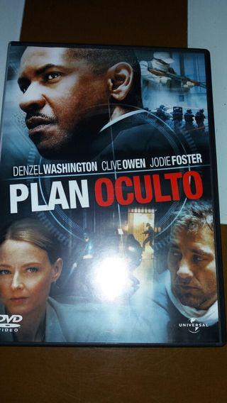 Dvd película Plan Oculto