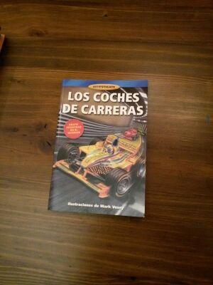 Libro Los coches de carreras.