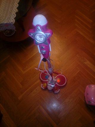 Micrófono de Hello Kitty