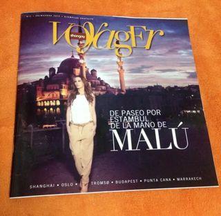 Revista Voyager Shangay Malú (Primavera 2013)