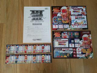 Nuevo Capcom CPS3 Street Fighter 3 PCB arcade kit