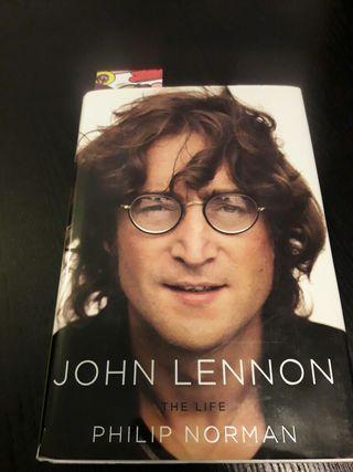 Libro John Lennon. The life. en inglés
