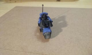 Moto Marines Espaciales Warhammer
