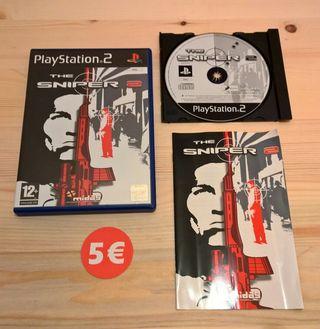 Vendo juego The Sniper para Playstation 2.