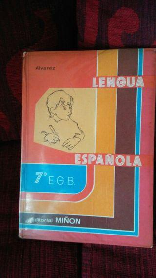 Lengua española 7 egb alvarez