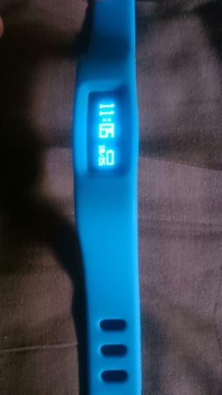 Smart bracelet azul