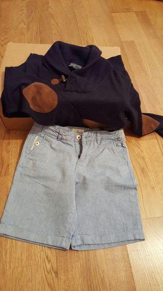 Pantalón y jersey (7-8 años)