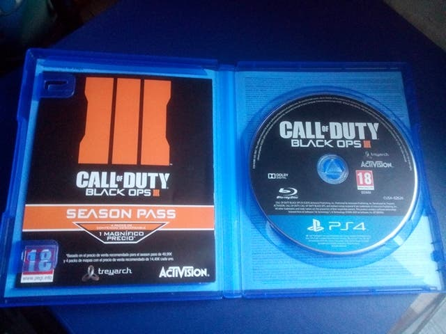 ps4, call of duty Black ops 3
