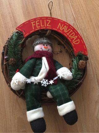Adorno Puerta Navidad