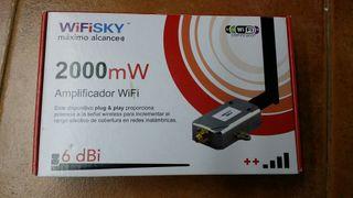Amplificador Wifiskay wifi 2000mw nuevo wireless