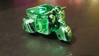 Moto verde metalizada zomling
