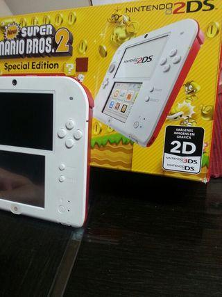 Nintendo Ds2 blanca y roja