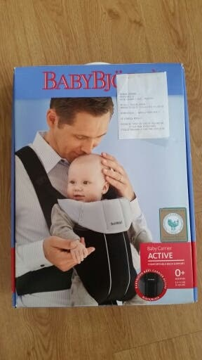 Mochila bebe babybjorn active