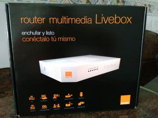 Router multimedia Livebox