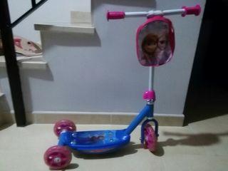 Patinete Frozen 3 ruedas
