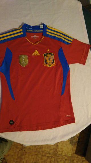 Camiseta selección española 2011-2012