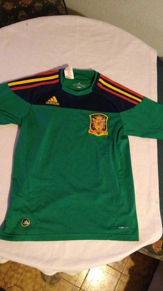 Camiseta futbol niño 13-14 años seleccion española