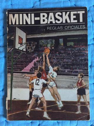 Libro de 1971 : Reglas Oficiales de Mini Basket