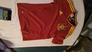 Camiseta selección española 13-14 años
