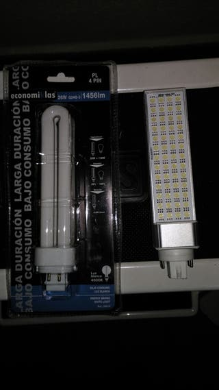 Bombillas LED y bajo consumo,4 pin