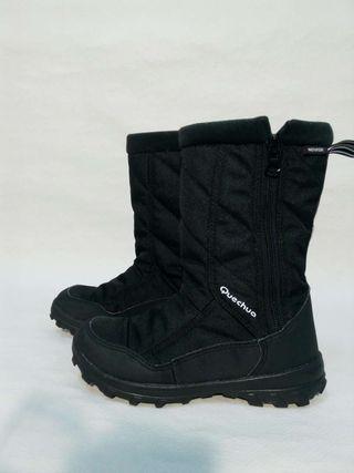 Botas para la nieve y agua