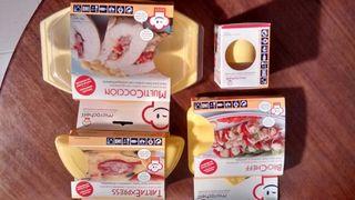 Set cocina en microondas Microcheff
