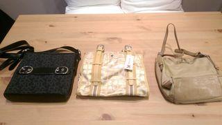 3 bolsos DKNY, Benetton y Martina