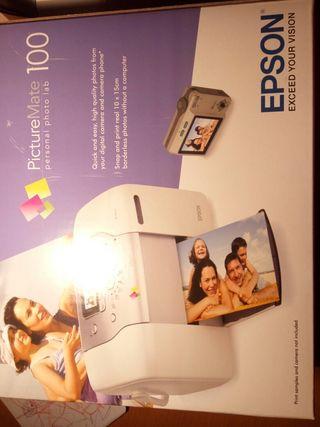 Impresora EPSON 100 para fotos