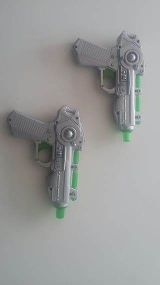 Pistolas Buzz Lightyear