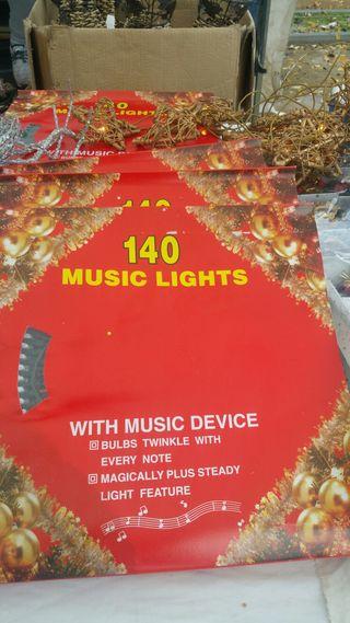 Caja luces de navidad