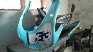 Frontal y laterales rs50 aprilia
