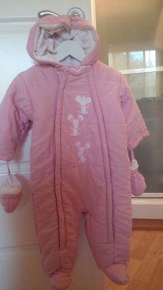 Buzo rosa bebé.9meses.