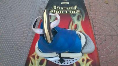 Fijaciones LIQUIDFORCE para wakeboard