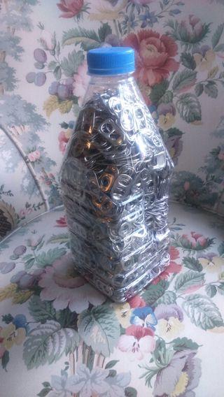Chapas de lata (Botella de 1.5 litros)